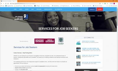 Goodwill Job Connection Website image