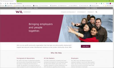 WIL Employment Connections Website image
