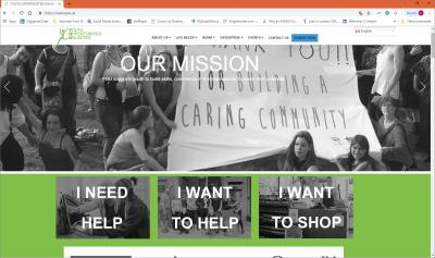Youth Opportunities Unlimited Website image