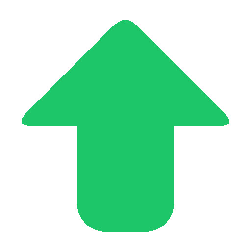 Arrow-up green image