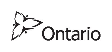 The Government Ontario trillium logo