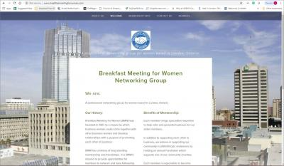 Breakfast Meeting for Women Networking Group London Website image