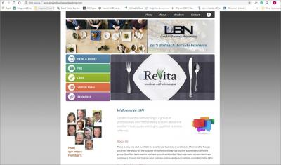 London business Networking Website image