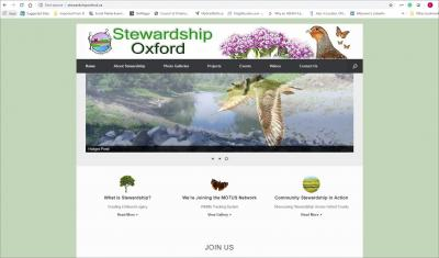 Stewardship Oxford Website image