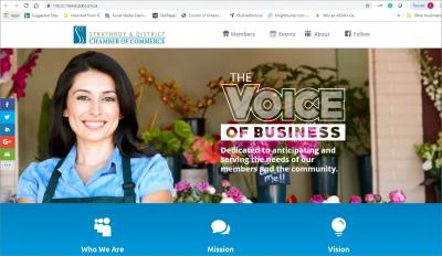 Strathroy & District Chamber of Commerce Website image